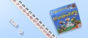 Regenwormen dobbelspel is het gezinsspel