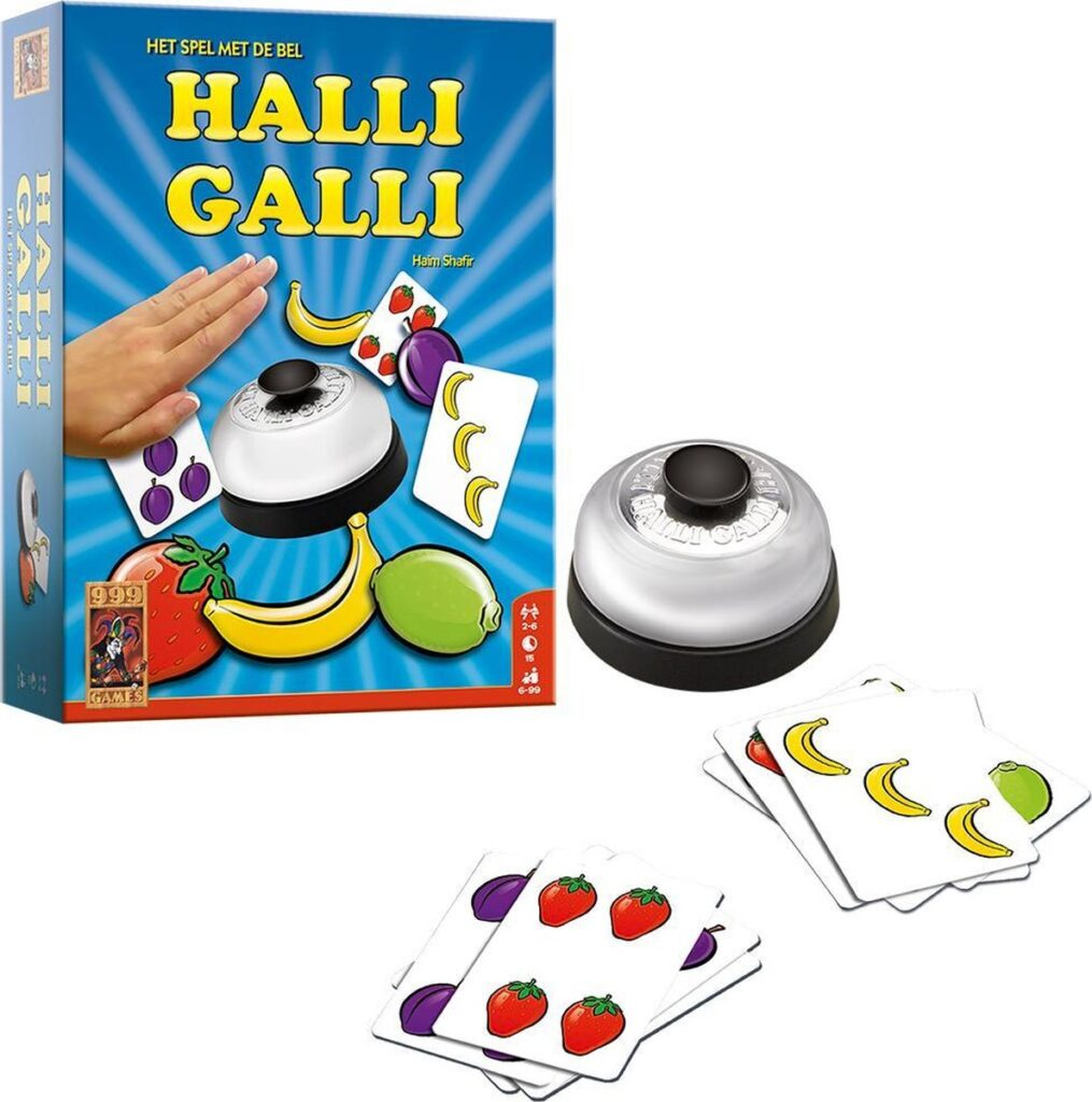 Het gezinsleven - Snelle spelletjes Halli Galli