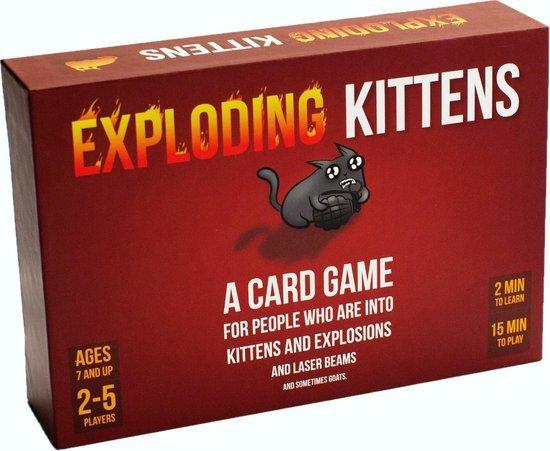 Het gezinsleven - exploding kittens 1