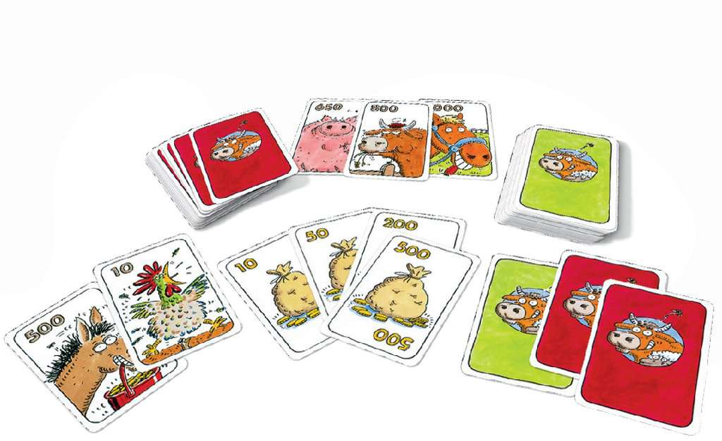 Koehandel kaartspel kaarten