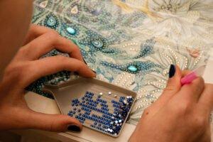 Het Gezinsleven - Lifestyle - Hobby's - Diamond Painting - ronde gemstones